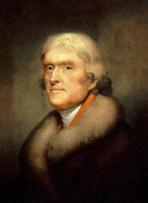 "Thomas Jefferson's natural rights statement in the ""Declaration of Independence"" became the measure of America's dedication to its political principles."